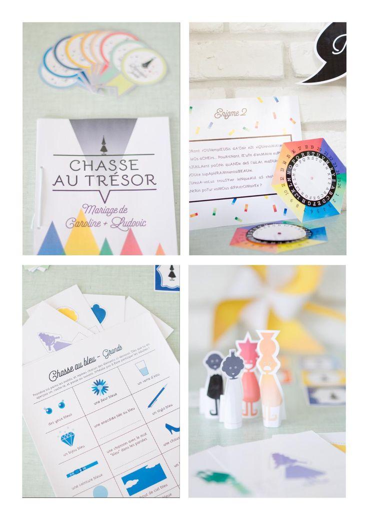 ISSUU - « La Chasse aux couleurs », le kit de chasse au trésor pour occuper les enfants lors d'un mariage par Happy KITS