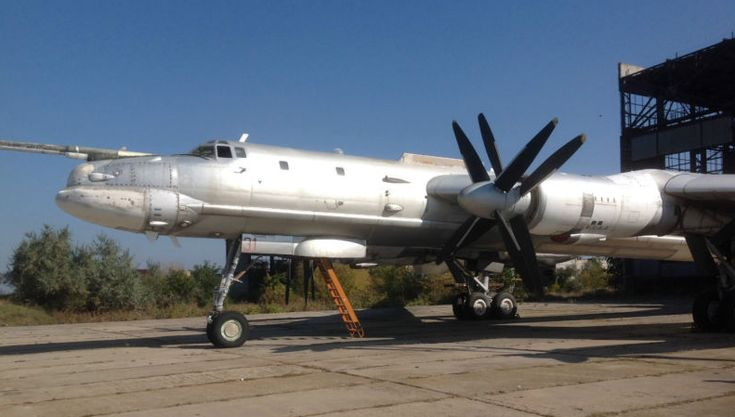 You can buy a Ukrainian Tu-95 Strategic Bomber on eBay now.Even though the Ukrainian Air Force does not operate any Bears right now, Ukraine got one unit of Tu-95 after the dissolution of the Soviet Union: twenty three TU-95MS, one TU-95K and one TU-95M aircraft were passed to Kiev and were subject to decommissioning under the provisions of the START-1 treaty.Aircraft shows signs of both the Soviet red star and the Ukrainian Air Force roundels formerly applied to the plane.