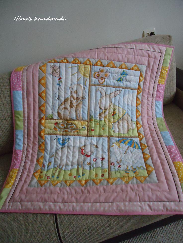 funny_farm panel quilt
