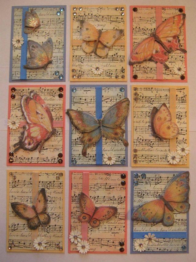 Butterfly Pocket Letter