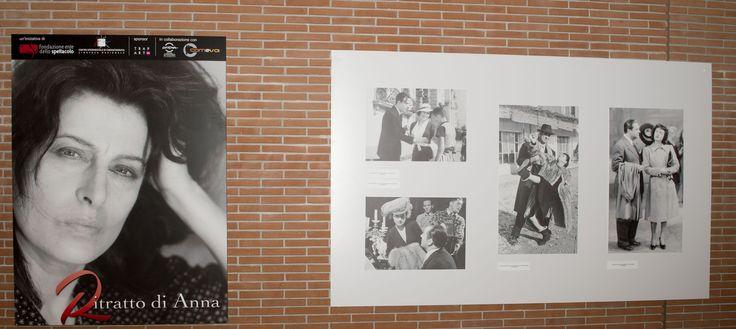La mostra fotografica Ritratto di Anna, organizzata dalla Fondazione Ente dello Spettacolo e il Centro Sperimentale di Cinematografia - Cineteca Nazionale al Festival del Film di #Roma. #cinema