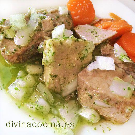 Atún encebollado aliñado » Divina CocinaRecetas fáciles, cocina andaluza y del mundo. » Divina Cocina