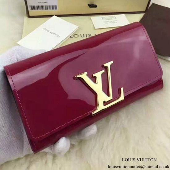 huge selection of c131f fc4b7 Louis Vuitton M61317 Louise Wallet Monogram Vernis | Bags ...