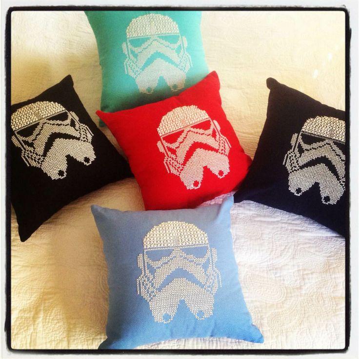 Stormtrooper Kanaviçe Yastık #stormtrooper #pillow #home #decor #starwars