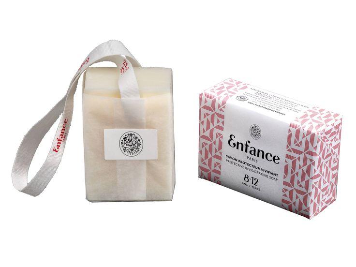 Doux Good - Enfance Paris - savon protecteur vivifiant 8-12 ans - emballage papier