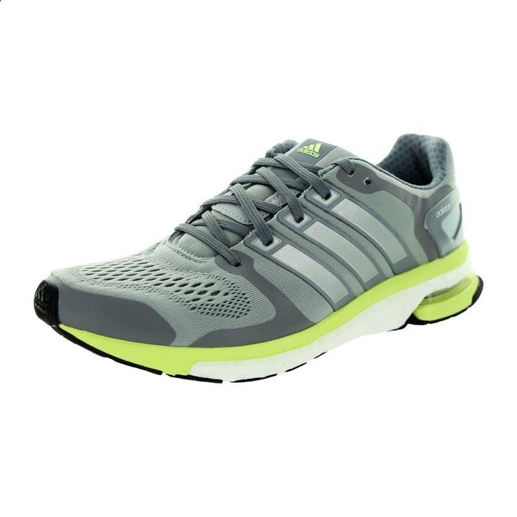 Adidas Womens Adistar Boost W Esm Light /Lime Green Running Shoe