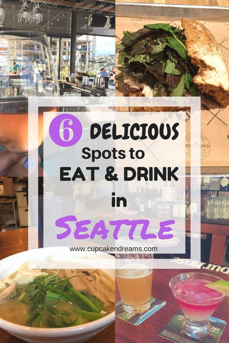 6 Scrumptious Spots to Eat & Drink in Seattle