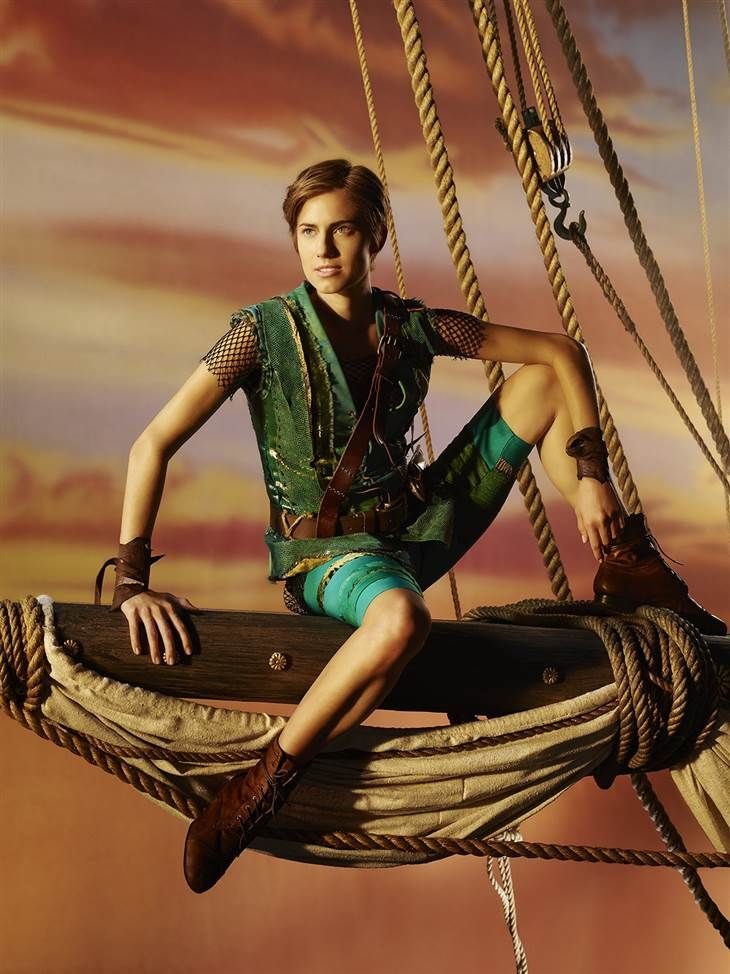 Allison Williams sets a course for adventure as the newest Peter Pan. I just can't wait!