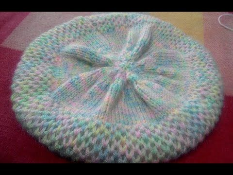Knitting Hindi Topi / Cap (Part 1) - YouTube