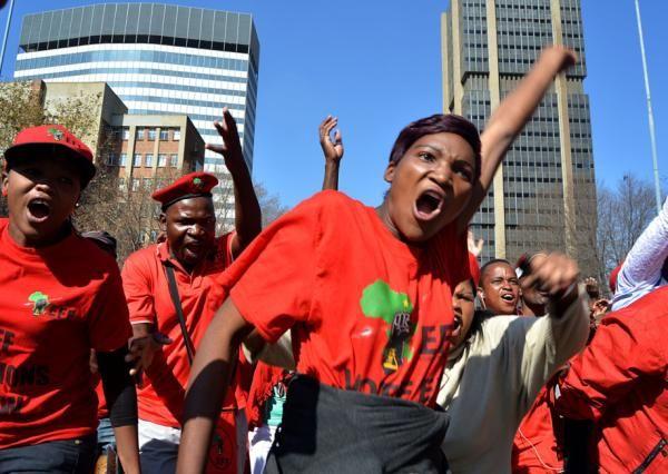 Gallery: EFF members march in Joburg - Politics | IOL News | IOL.co.za
