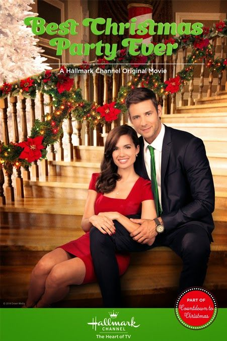 """""""Best Christmas Party Ever"""" (2014) - Premieres Saturday, December 13, 8/7c on the Hallmark Channel.   #christmasmovies"""