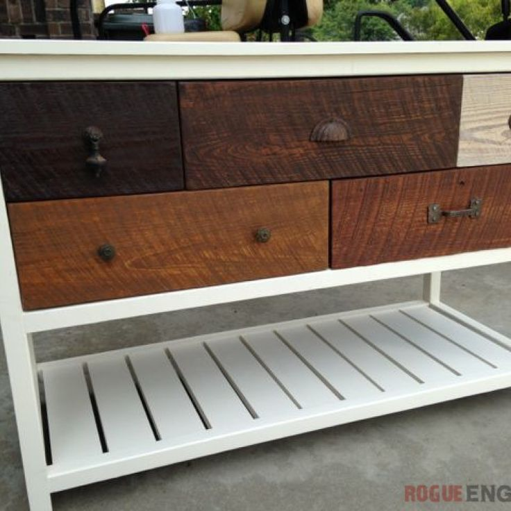 Console Table Plans - Step 8