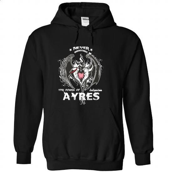 AYRES-the-awesome - #hoodies for teens #cute sweatshirt. MORE INFO => https://www.sunfrog.com/LifeStyle/AYRES-the-awesome-Black-64246983-Hoodie.html?68278
