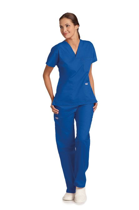 308/308 Wide Leg Drawstring Scrub Set - If you're looking for a relaxed fit, look no further! The MOBB Wide Leg Drawstring Scrub Set is so comfortable you'll be wearing it on your days off. This five pocket pant is paired with a three pocket v-neck top featuring Dolman sleeves. Get it for a great price before its gone!