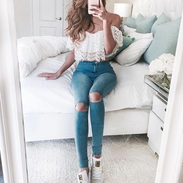 49 Idéias de roupas de verão cativantes que você já deve possuir   – Frauen Sommer Mode