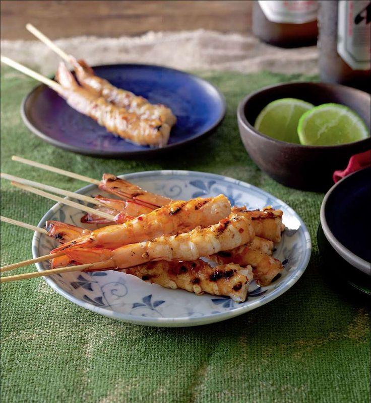 Chilli prawns from Izakaya | Cooked
