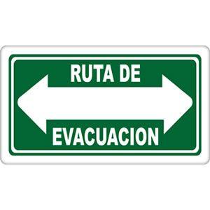 Resultado de imagen para imagenes de ruta de evacuacion flechas