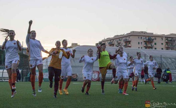 Roma calcio femminile inarrestabile: 11 goal al Real Colombo