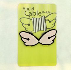 Kablolarınızı melekler düzenlesin... Ölçüler: 2,5 cm x 6,5 cm Renk: Pembe-Siyah