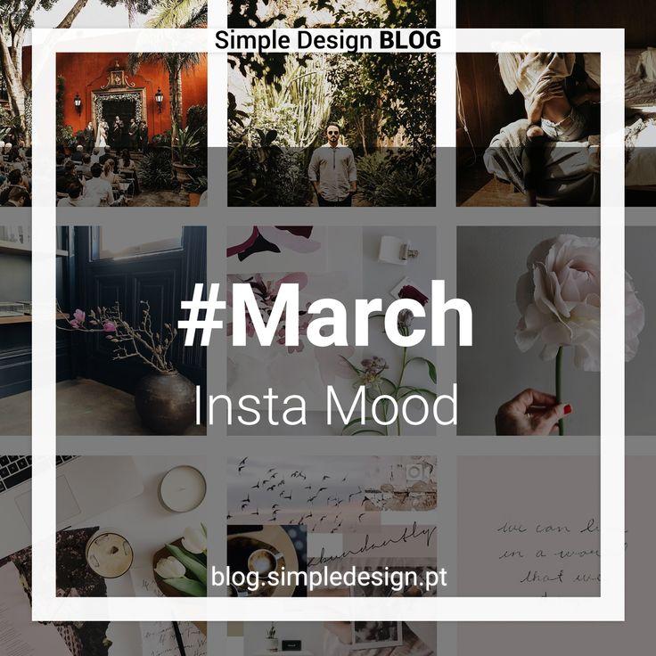 Novo mês, novas contas do Instagram que nos inspiram! No mês de Março temos 4 contas: @arrowsandbow, @indiaearl, @nataliebdesigns e @theblogstop