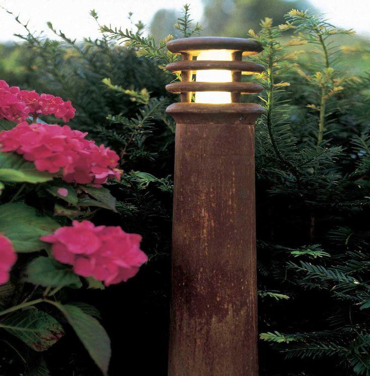 Rusty Lamp Post Image