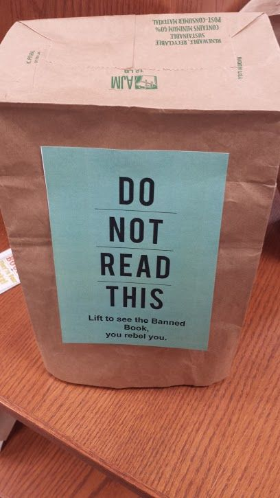 Celebrating Banned Books Week at Rowlett Public Library
