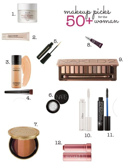 12 Makeup Products for 50+ Women