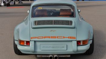 View detailed pictures that accompany our Porsche 911 Reimagined by Singer: Monterey 2013 article with close-up photos of exterior and interior features. (36 photos)