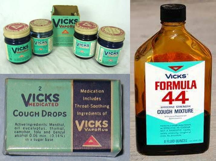 Vintage vicks 44 medicina