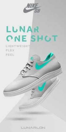Marketing THROUGH sports advertising for those who want a clean, fresh pair of sneakies Product: lunar one shot Nikes Place: runners Price:$259 People: who ever is tryna run