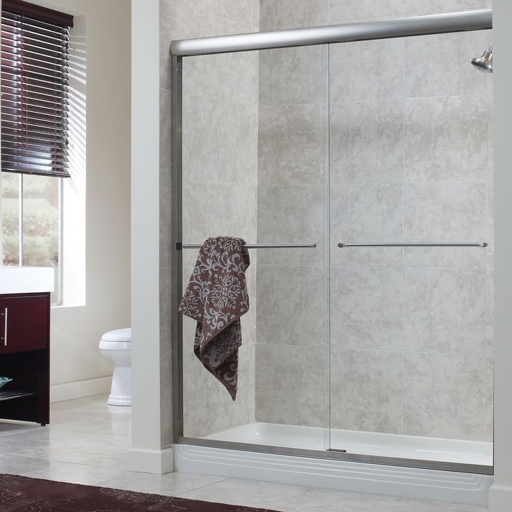19 Best Bathroom Frameless Sliding Shower Doors Images On