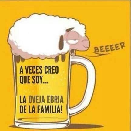 A veces creo que soy la oveja Ebria de la Familia #Viernes