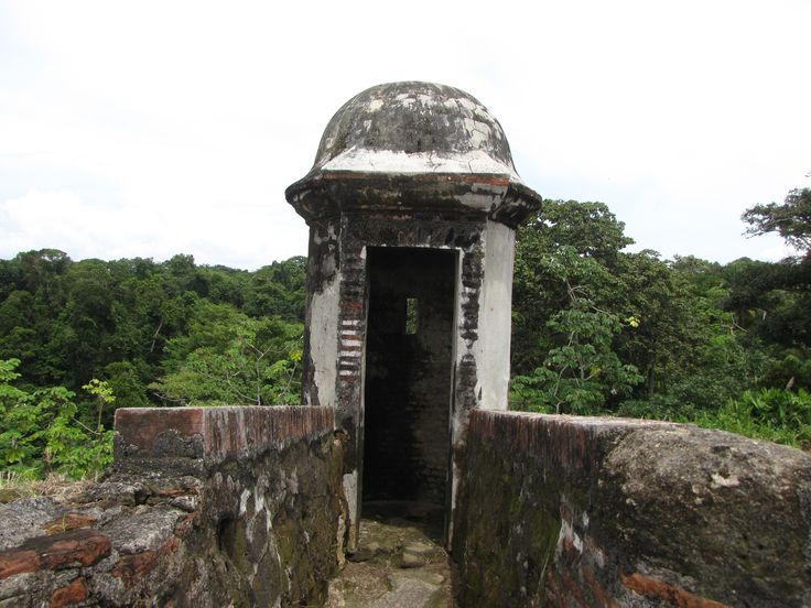 Entrance to Fort San Lorenzo in Panama.  Explore the history of Panama during your vacation!  www.panamaroadrunner.com