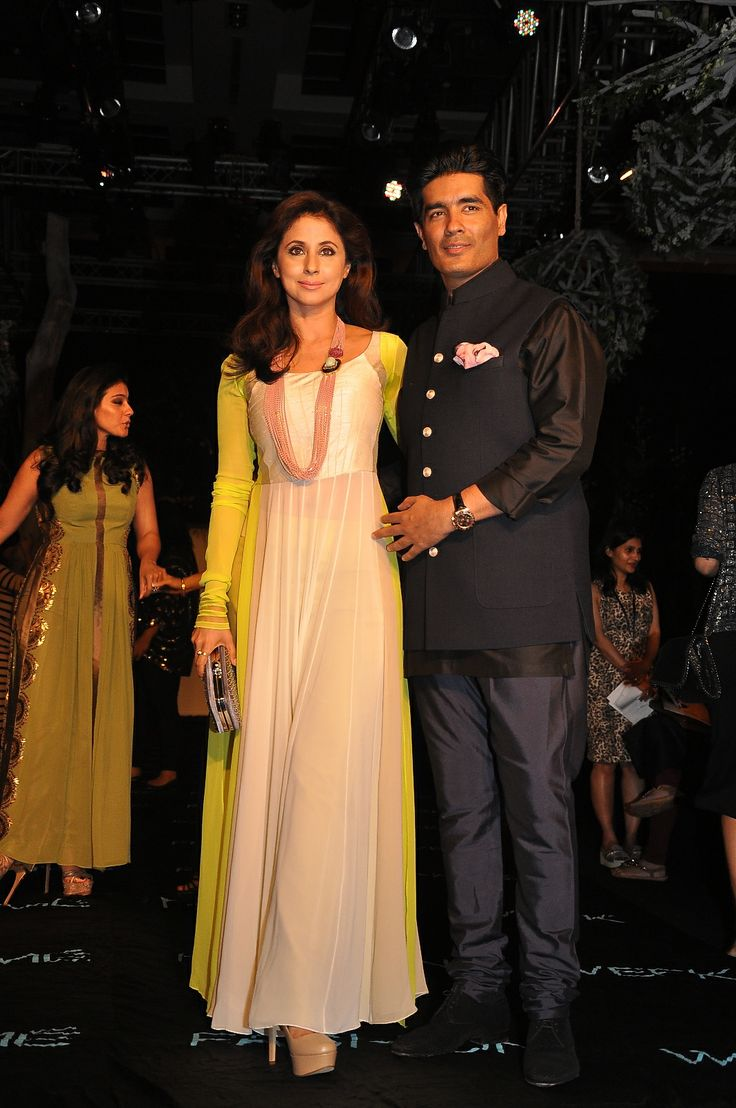 Urmila Matondkar with Manish Malhotra at the Opening Night event