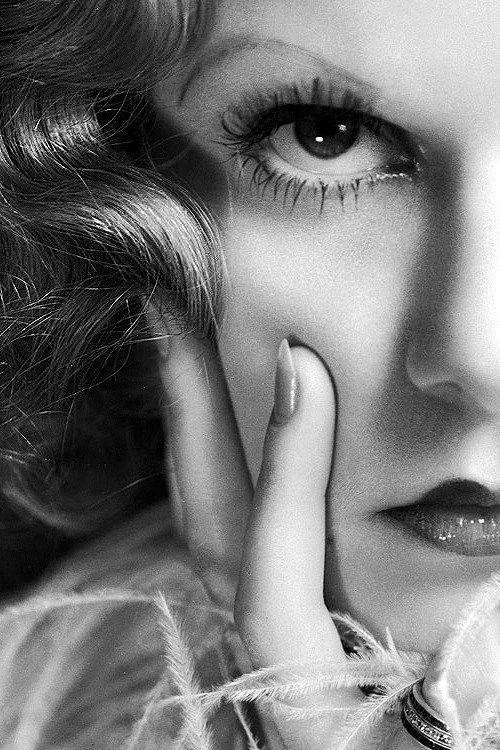 Jean Harlow - Decade makeup inspiration