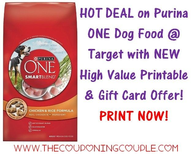 NEED FOOD FOR FIDO???? If so RUN to Target for this Amazing Deal on Purina ONE Dog Food! I know I will be stopping on the way home to pick up several bags!  Click the link below to get the FULL BREAKDOWN and DIRECT LINKS to the coupons ► http://www.thecouponingcouple.com/great-purina-one-dog-food-deal-target-save-big/  #Coupons #Couponing #CouponCommunity  Visit us at http://www.thecouponingcouple.com for more great posts!