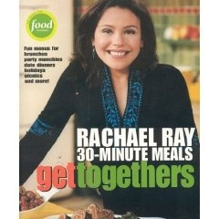 Having a party? Get some great ideas from this Rachael Ray Cookbook!