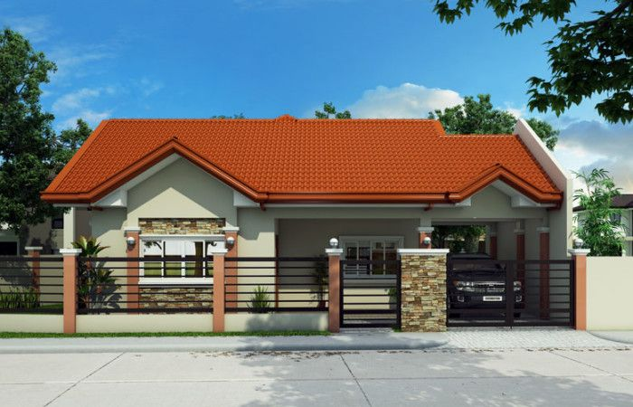 Bungalow house PHD-2015016 - Pinoy House Designs