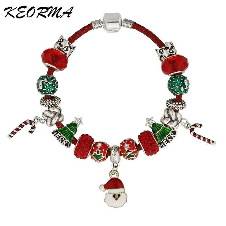 Christmas Bracelet Leather Chain Santa Claus and Christmas Tree Charms Bracelets Jewelry For Women Girls Best GiftDeep discounts on over 300 products that enhance your life from day to day! Items for men and women of all ages, also teenagers. Take a look at our #jewelry #handbags #outerwear #electronicaccessories #watches #umbrellas #gpspettracker  #Songbirddeals #Purses #sunglasses
