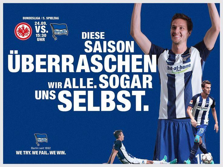 Matchday - wir wollen einen schönen Wochenabschluss!  #SGEBSC #hahohe