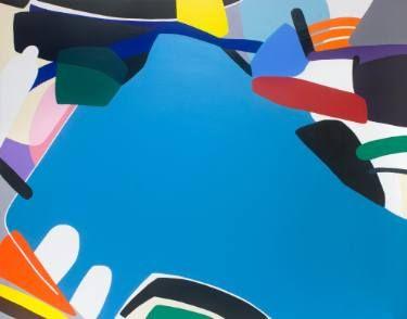 "Saatchi Art Artist Kotaro MACHIYAMA; Painting, ""Think about"" #art"
