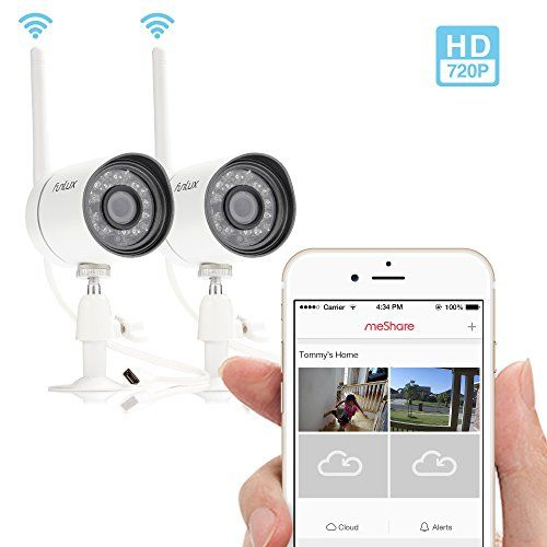 Funlux® NEW Outdoor 720P HD Smart Wireless Surveillance Camera System -- Set Up in 2 Mins - http://camera-photos.wegetmore.com/funlux-new-outdoor-720p-hd-smart-wireless-surveillance-camera-system-set-up-in-2-mins/
