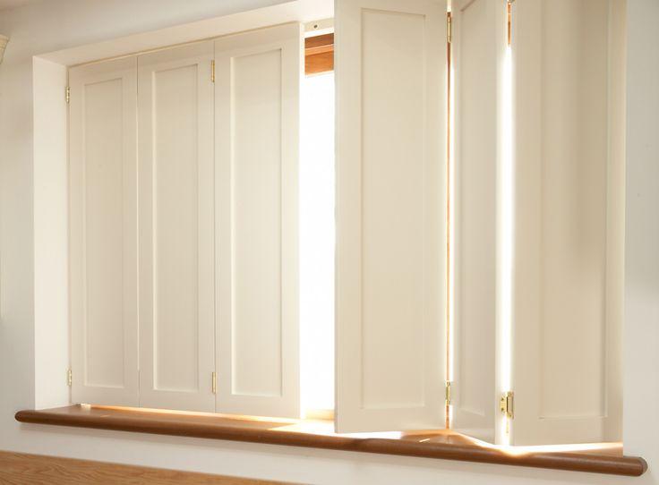 Best 25 window shutters ideas on pinterest diy exterior - Unfinished interior wood shutters ...
