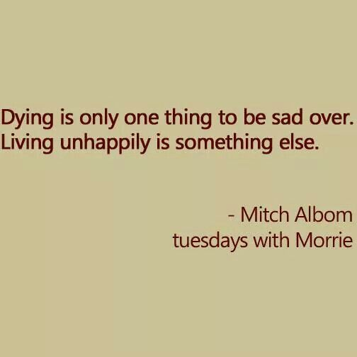 tuesdays with morrie mitch and morrie Tuesdays with morrie details soul-searching conversations between sports writer mitch albom and his dying former college professor, morrie schwartz now, 20 years after the book first came out.
