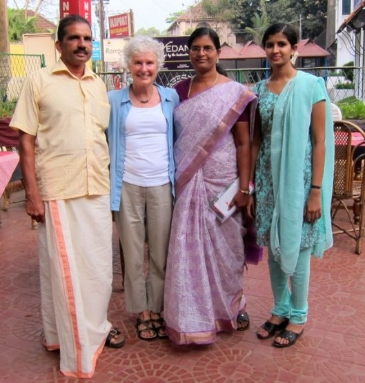 Abreast In A Boat and Diane Thomson of Dianes Lingerie meet a need in India.