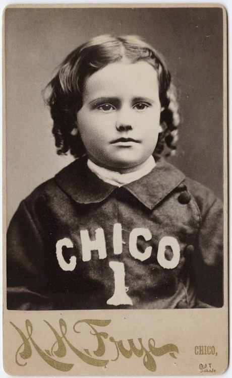 ca. 1855-95, [carte de visite portrait of a young boy with a Chico shirt], H. H. Frye  via the Yale Collection of Western Americana, Beinecke Rare Book and Manuscript Library, Carl Mautz CollectionFrye, Chico Shirts, Westerns Americana, Visit Portraits, Young Boys, Carts To Visit, Chico California, California Image, Yale Collection