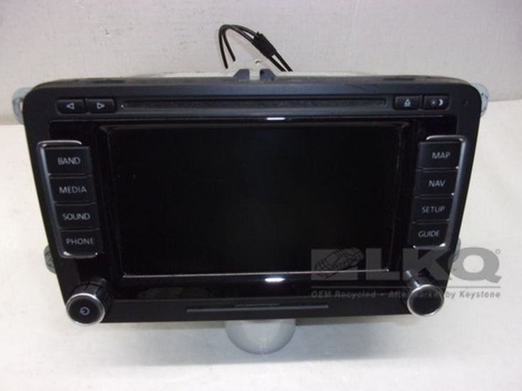2009 VW Volkswagen EOS GPS Navigation Bluetooth Radio Receiver CD Player OEM #Volkswagen
