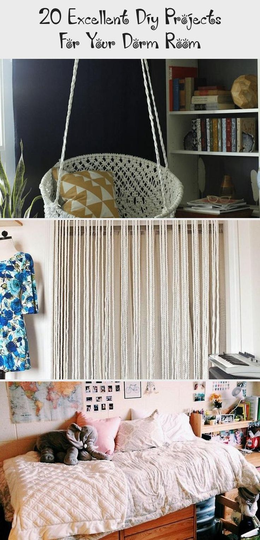 HomeDecorDIYCollege Loft bed plans, College diy, Home decor