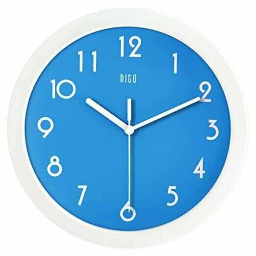 Hito Silent Kids Wall Clock Non Ticking 10 Inch Excellent Accurate Sweep Movemen Wall Clocks Ebay Link In 2020 Kids Wall Clock Wall Clock Clock