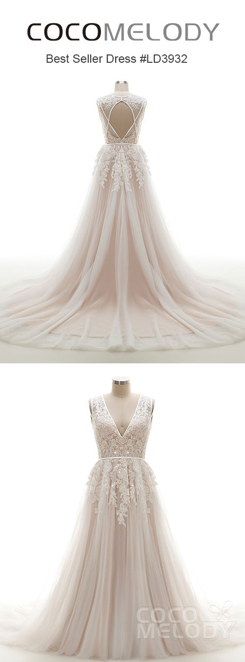 The Most Beautiful Wedding Dress Ever! LD3932 #cocomelody